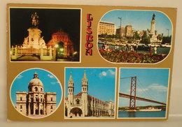 Lisbona  Portogallo CARTOLINA  Viaggiata - Lisboa