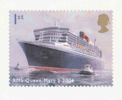 GRANDE-BRETAGNE - 2004 - YT N° 2554 TP  Autoadhésif - SG N°2455 - NEUF  LUXE ** MNH - Paquebot Queen Mary 2 - Unused Stamps