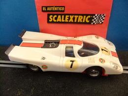 Scalextric Exin PORSCHE 917 Blanco Ref. C - 46 - Road Racing Sets