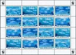 Bermuda 2004 - WWF Fish - Endangered Species - Bluefin Tuna MINT - Bermudas