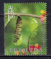 Bermuda 2016 - Butterflies - Lifecycle Of The Monarch Butterfly  From Block - Bermudas