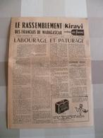 Journal De Madagascar 1958 : Le Rassemblement Des Français De Madagascar ( En Français) - Livres, BD, Revues