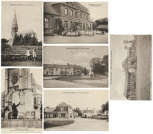 62 - CAMPAGNE Les HESDIN 6 Cartes Postale - Edit. Hérard Crèpin - Voir En Verco_CPA - Frankrijk