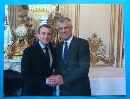 2018 President Of France And Kosovo, Unused - Kosovo