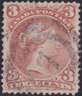 Canada        .     SG    .   49        .     O    .   Cancelled   .   /    .     Gebruikt - 1851-1902 Regering Van Victoria