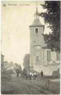 WASSEIGES - Vue De L'Eglise - Attelage De Boeuf - Wasseiges