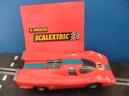 Scalextric Exin PORSCHE 917 Rojo Ref. C - 46 - Circuitos Automóviles