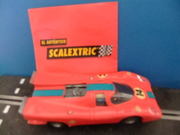 Scalextric Exin PORSCHE 917 Rojo Ref. C - 46 - Road Racing Sets