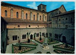 VEROLI  (FR)   ABBAZIA  CISTERCENSE  DI  CASAMARI     INTERNO  DEL  CHIOSTRO   (NUOVA) - Italia