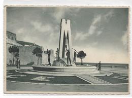 "CARD SAN REMO FONTANA MONUMENTALE LETTERA ""M"" (MUSSOLINI  AIUOLE FIORI ""DUCE"" (IMPERIA)-FG-V-2-0882-28831 - San Remo"