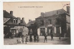 SAINT PIERRE DES LANDES - PLACE CENTRALE - 53 - France