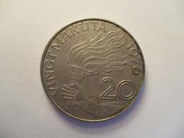 Congo: 20 K (makuta) 1967 - Congo (Democratische Republiek 1964-70)