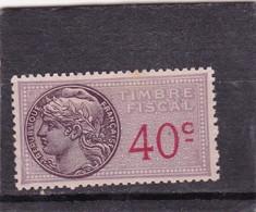 T.F.S.U N°109 Neuf - Revenue Stamps