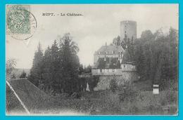 RUPT Le Château (timbre Taxe Dos) - France