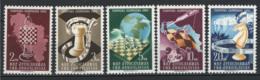 Jugoslavia 1950 Unif. 549/53 **/MNH VF - 1945-1992 Repubblica Socialista Federale Di Jugoslavia