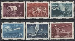 Jugoslavia 1950 Unif. 562/67 **/MNH VF - Nuovi