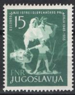 Jugoslavia 1953 Unif. 638 **/MNH VF - 1945-1992 Repubblica Socialista Federale Di Jugoslavia