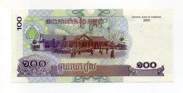 Cambogia - 2001 - Banconota Da 100 Riels - Nuova -  (FDC14750) - Cambogia