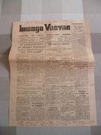 3 Feuilles 3 Journaux De Madagascar 1958 : - Livres, BD, Revues