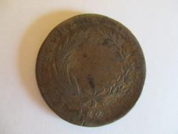 Greece: 10 Lepta 1828 Rare But Damaged - Grèce