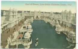 London 1912; Latin-British Exhibition. Court Of Honour - Circulated. (Valentine's) - London