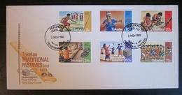Tokelou -  Enveloppe 1er Jour - 1983 - Traditions - Tokelau