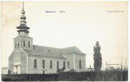 MEERHOUT - Kerk - Uitgever Th. Cools - Meerhout