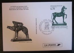 Souvenir France - 1996 - Neuvy En Sullias - Cheval- Bronze - France