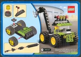LEGO - 6036885 / 6036891 EASY TO BUILD CARD - Original Lego 2013 - Catalogs