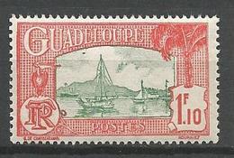 GUADELOUPE N°  116 NEUF** LUXE SANS CHARNIERE / MNH - Guadeloupe (1884-1947)