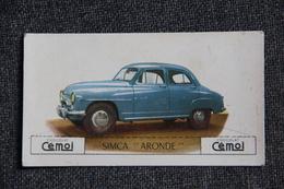 "Voiture : "" SIMCA ARONDE "", Chocolat CEMOI - Autos"