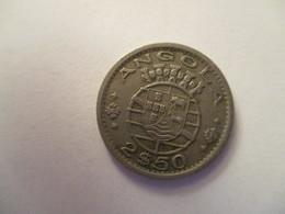 Angola: 2 1/2 Escudos 1956 - Angola