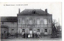11 - PROUZEL (Somme) - Le Café De M.LEVE - France