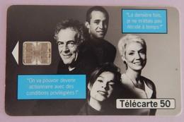 """TELECARTE 10/98 SANS UNITE""""ACTIONNAIRES"""" - Frankrijk"""