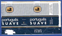 Portugal 1960 To 1970, Packet Of Cigarettes - PORTUGUÊS SUAVE / A Tabaqueira, Lisboa - Empty Tobacco Boxes