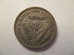 South Africa: 3 Pence 1951 - South Africa