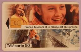 TELECARTE 02/96 SANS UNITE - Frankrijk
