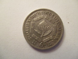 South Africa: 6 Pence 1950 - South Africa
