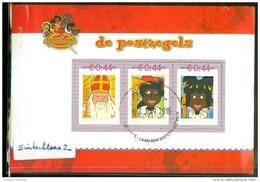 NEDERLAND * SINTERKLAAS  (2) *  BLOK * BLOC * BLOCK Van 3 * NETHERLANDS * GEBRUIKT - Periodo 2013-... (Willem-Alexander)