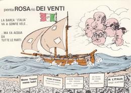 """LA BARCA """" ITALIA VA A GONFIE VELE """" - Satira"""