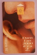 "TELECARTE 01/97 SANS UNITE""DANS L AN 2000 IL Y A 2"" - Frankrijk"