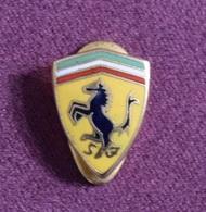 Italia - Car Ferrari Badge, Enamel - Ferrari