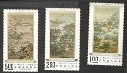TAIWAN1970:Michel 797-9mnh** Cat.Value$32 - 1945-... República De China