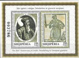 2018 Albanien Mi. Bl 200 **MNH  550. Todestag Von Skanderbeg. - Albania