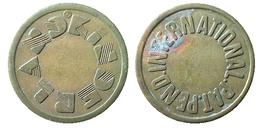 03296 GETTONE TOKEN JETON FICHA UNITED KINGDOM (?) KINDERLAND INTERNATIONAL PAT. PEND. - United Kingdom