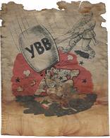 1940/44 - Ukraine/Russland/Germany, Original Flugblatt Aus Dem Flugzeug, 14,5X18cm. 2 Scan - Russland
