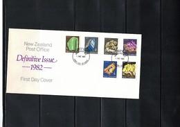 New Zealand 1982 Minerals FDC - Mineralien