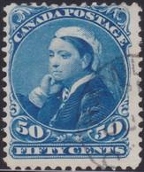 Canada        .     SG    .    116      .     O    .   Cancelled   .   /    .     Gebruikt - 1851-1902 Regering Van Victoria