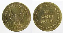00652 GETTONE TOKEN JETON FICHA GAMING SLOT MACHINE FREEEDOM EAGLE NO CASH VALUE - United Kingdom