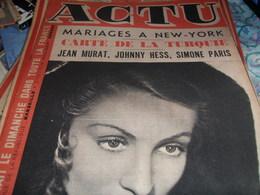 ARIANE BERG/SALINS HYERES/ ROI GITANS/ KNIASEFF/SIMONE PARIS/ JEAN MURAT /JOHNNY HESS /EDWIGE FEUILLERE/ALFRED CORTOT - 1900 - 1949